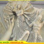 কালিহাতীতে প্রস্তুত মন্ডপ, শিল্পীরা দিচ্ছেন শেষ তুলির ছোঁয়া