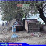 টাঙ্গাইল কেন্দ্রীয় ঈদগাঁ থেকে অবৈধ দোকান উচ্ছেদ
